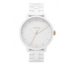 Montre Nixon Kensington All White Gold 2014