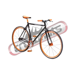 Fixie United Cruiser Black 2016 pour homme