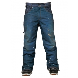 Pantalon 686 Parklan Destructed Denim Indigo 2015