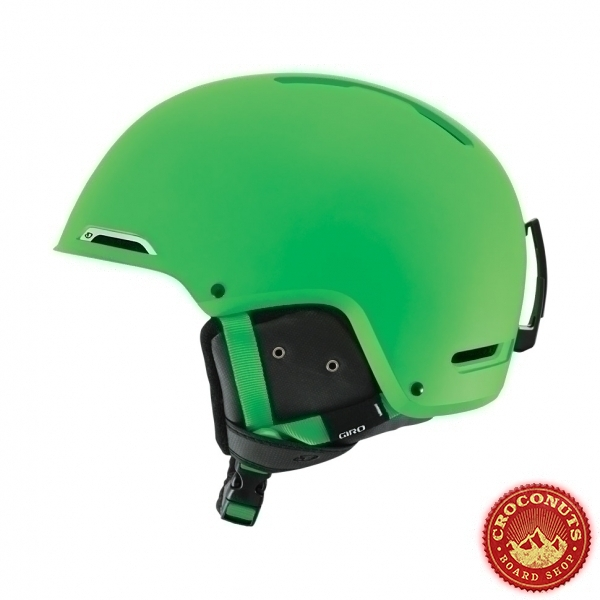 Casque Giro Battle Matte Bright Green 2015