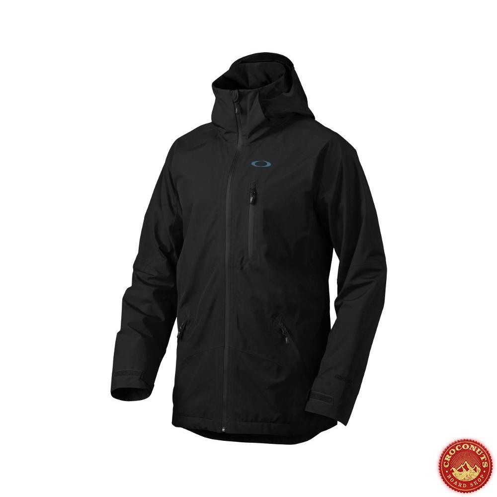 veste oakley sikorsky gore tex noir jais 2015 snowboard vestes vente en ligne. Black Bedroom Furniture Sets. Home Design Ideas