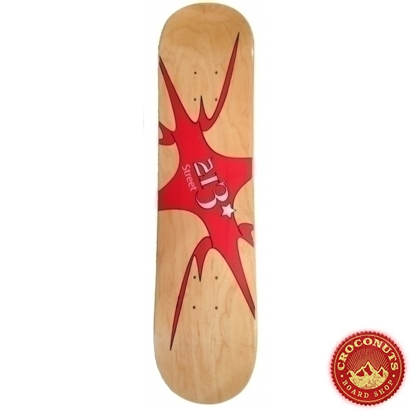 Deck 213street Logo Wood 2020