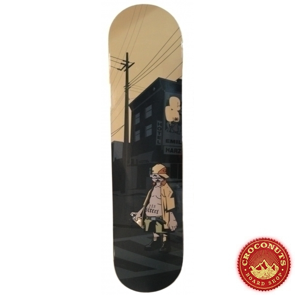 Deck 213Street Logo Urban Wood 2019