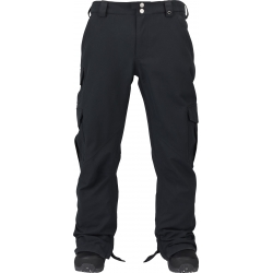 Pantalon B Snowboard Cargo Pant True Black 2016