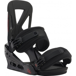 Fixations Burton Custom Black Red