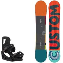Pack Burton Custom Camber + Burton Cartel est black 2015