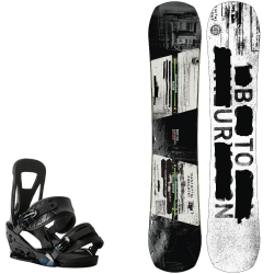 Pack Burton Name Dropper + Burton freestyle black 2015