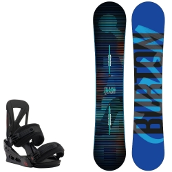 Pack Burton Clash + Burton custom black 2015